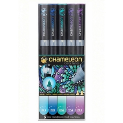 Chameleon Pen Color Tones Cool Tones - sada 5 ks