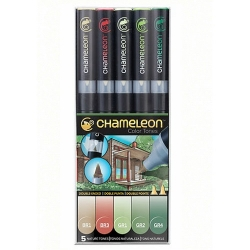 Chameleon Pen Color Tones Nature Tones - sada 5 ks