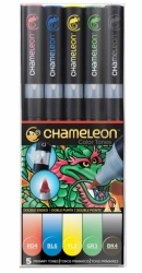 Chameleon Pen Color Tones Primary Tones - sada 5 ks