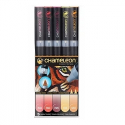 Chameleon Pen Color Tones Earth Tones - sada 5 ks