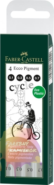 Ecco pigment set 0.1 - 0.3 - 0.5 - 0.7 mm
