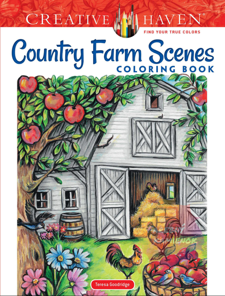 Country Farm Scenes - Teresa Goodridge