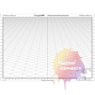 Graphit Sablona Na Perspektivu B Rozmer A4