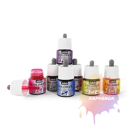 Pébéo Colorex Brilliant Watercolour - atrament 45 ml - rôzne odtiene