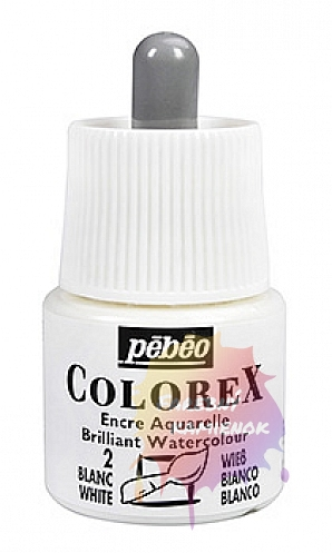 Pébéo Colorex Brilliant Watercolour - atrament 45 ml - 2