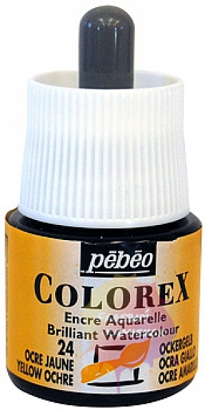 Pébéo Colorex Brilliant Watercolour - atrament 45 ml - 24