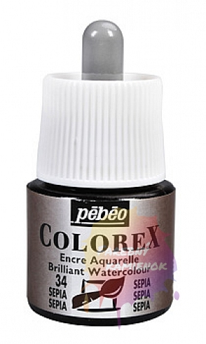 Pébéo Colorex Brilliant Watercolour - atrament 45 ml - 34