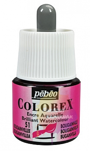 Pébéo Colorex Brilliant Watercolour - atrament 45 ml - 51