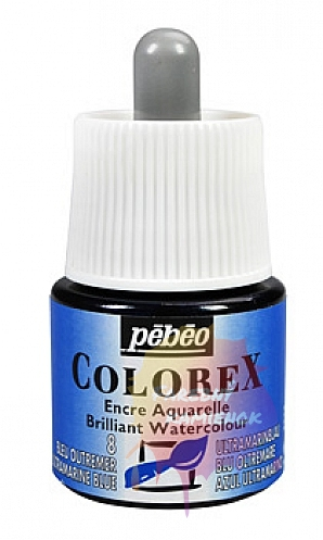 Pébéo Colorex Brilliant Watercolour - atrament 45 ml - 8