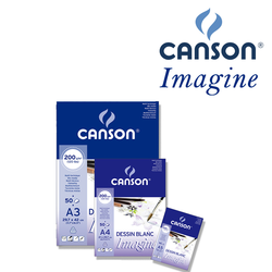 Canson Mix Media Imagine, Skicar 200 g/m², 50 listov